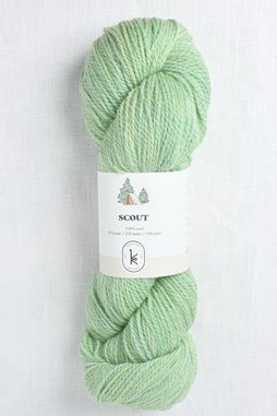 Image of Kelbourne Woolens Scout 336 Mint Heather
