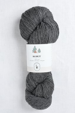 Image of Kelbourne Woolens Scout 034 Graphite Heather