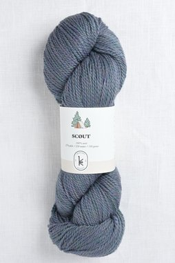 Image of Kelbourne Woolens Scout 425 Blue Heather
