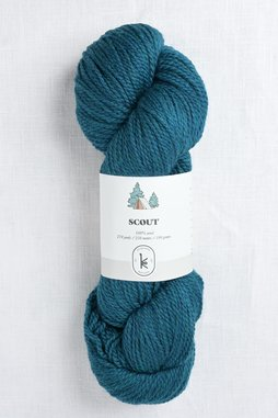 Image of Kelbourne Woolens Scout 432 Teal Heather