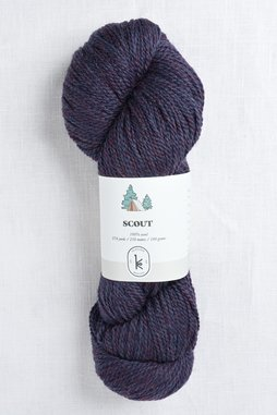 Image of Kelbourne Woolens Scout 501 Plum Heather