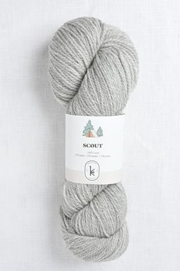 Image of Kelbourne Woolens Scout 058 Gray Heather