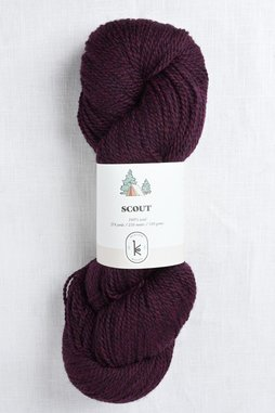 Image of Kelbourne Woolens Scout 602 Mulberry Heather
