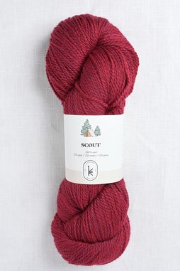 Image of Kelbourne Woolens Scout 614 Scarlet Heather