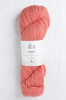Image of Kelbourne Woolens Scout 667 Coral Heather
