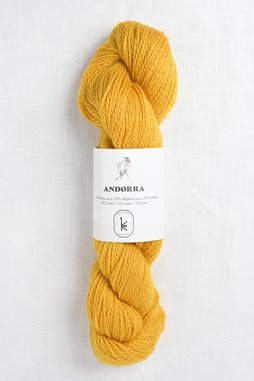 Image of Kelbourne Woolens Andorra 734 Sunshine Yellow