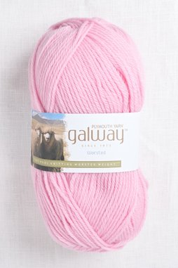 Image of Plymouth Galway Worsted 162 Palest Pink