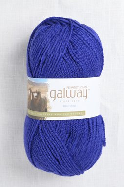 Image of Plymouth Galway Worsted 192 Blueberry