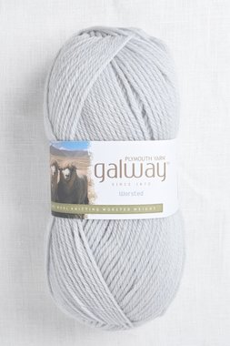 Image of Plymouth Galway Worsted 205 Glacier Grey