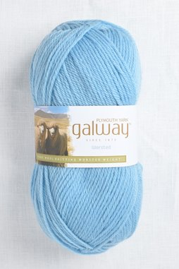 Image of Plymouth Galway Worsted 83 Bird Egg Blue