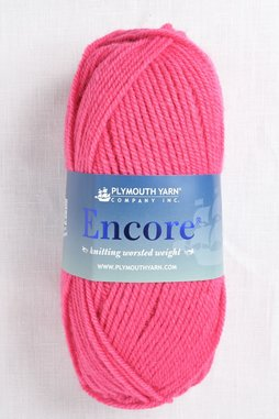 Image of Plymouth Encore Worsted 137 California Pink