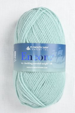 Image of Plymouth Encore Worsted 154 Blue Haze