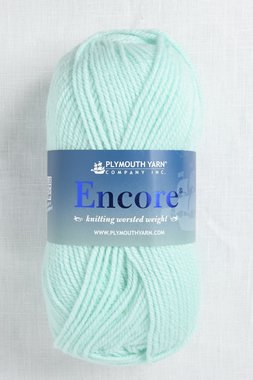Image of Plymouth Encore Worsted 1201 Pale Green