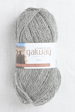 Image of Plymouth Galway Sport 702 Light Grey Heather