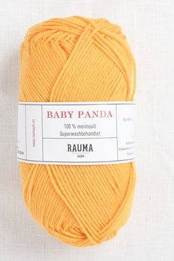 Image of Rauma Baby Panda (Baby Garn) 50 Yellow