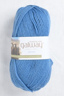 Image of Plymouth Galway Worsted 206 Colonial Blue