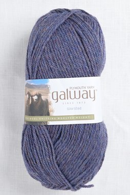 Image of Plymouth Galway Worsted 732 Denim Heather