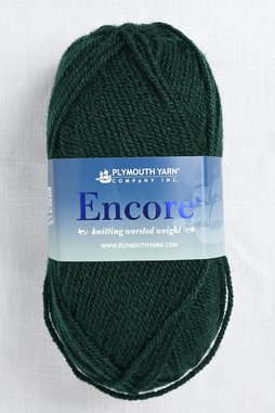Image of Plymouth Encore Worsted 204 Forest Green