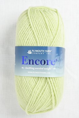 Image of Plymouth Encore Worsted 450 Citrus Green