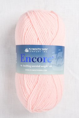 Image of Plymouth Encore Worsted 597 Pale Peach