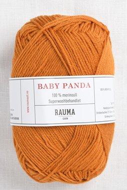 Image of Rauma Baby Panda (Baby Garn) 55 Burnt Orange