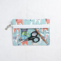 Image of Knitty Ditty Bags, Small Clear Ditty Notion Bag
