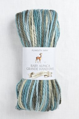 Image of Plymouth Baby Alpaca Grande Hand Dye 14 Teal Mix