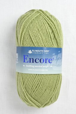 Image of Plymouth Encore Worsted 451 Green Gremlin