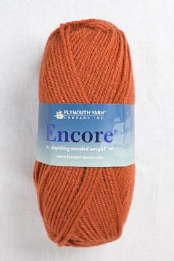Image of Plymouth Encore Worsted 456 Harvest