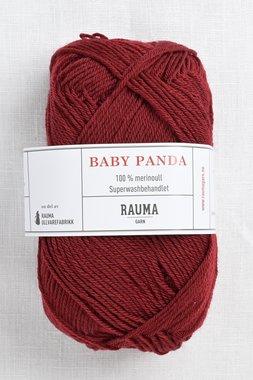 Image of Rauma Baby Panda (Baby Garn) 28 Burgundy