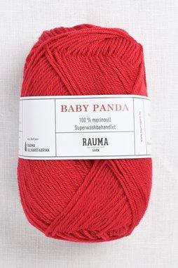 Image of Rauma Baby Panda (Baby Garn) 35 Red