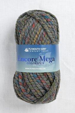 Image of Plymouth Encore Mega Colorspun 7163 Grey Primary