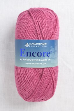 Image of Plymouth Encore Worsted 180 Mauve