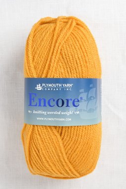 Image of Plymouth Encore Worsted 460 Golden Glow