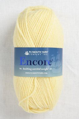Image of Plymouth Encore Worsted 470 French Vanilla
