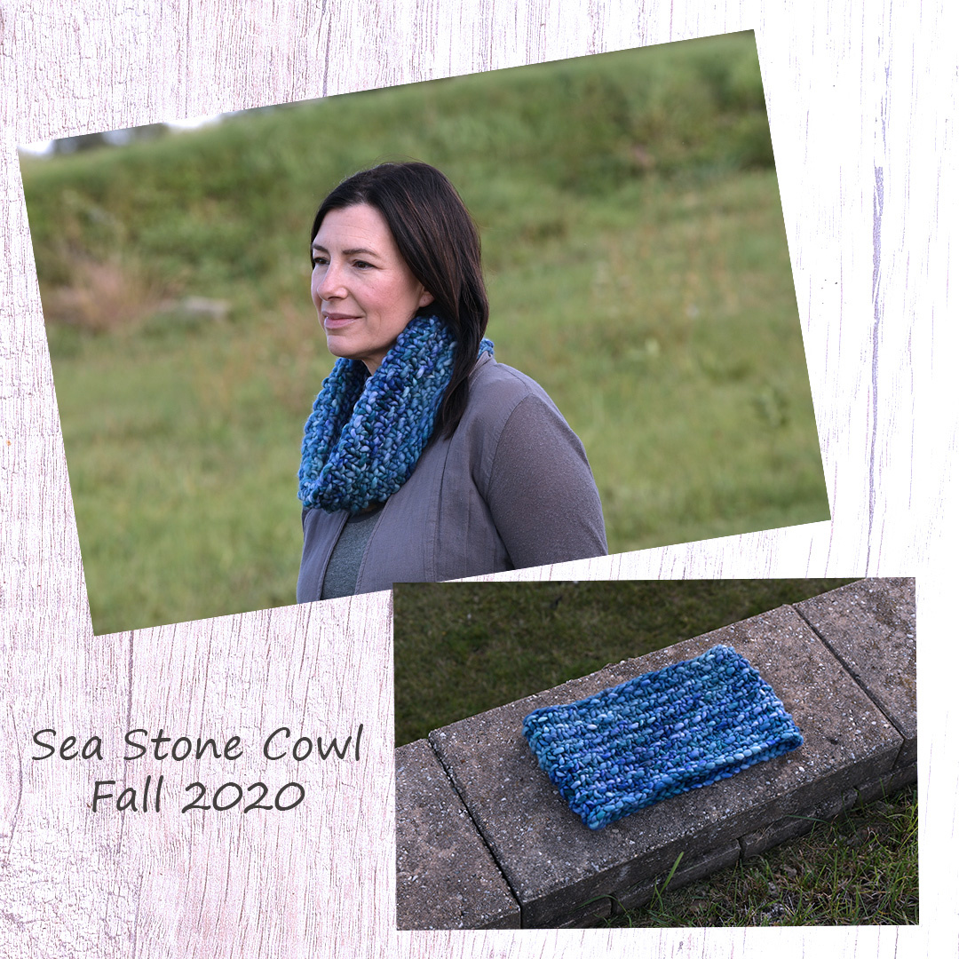 Feature Pattern of the Week - Sea Stone Cowl