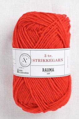 Image of Rauma 3-Ply Strikkegarn 124 Red