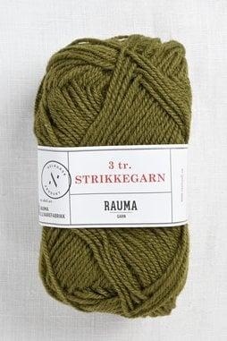 Image of Rauma 3-Ply Strikkegarn 761 Moss Green