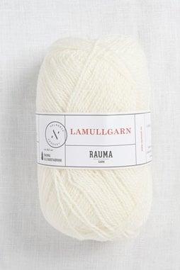 Image of Rauma 2-Ply Lamullgarn 10 White