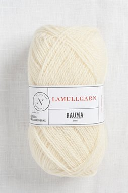 Image of Rauma 2-Ply Lamullgarn 11 Off White
