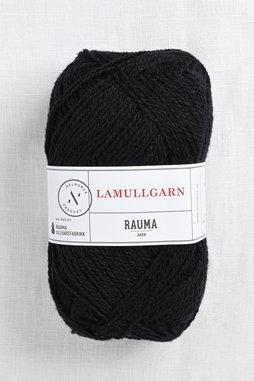 Image of Rauma 2-Ply Lamullgarn 15 Black