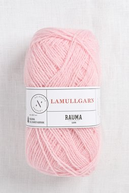 Image of Rauma 2-Ply Lamullgarn 21 Light Pink