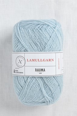Image of Rauma 2-Ply Lamullgarn 22 Light Blue