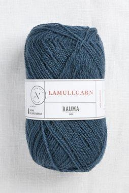 Image of Rauma 2-Ply Lamullgarn 26 Petrol