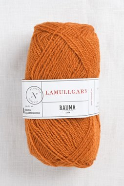 Image of Rauma 2-Ply Lamullgarn 27 Medium Orange