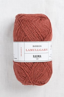 Image of Rauma 2-Ply Lamullgarn 28 Burnt Orange