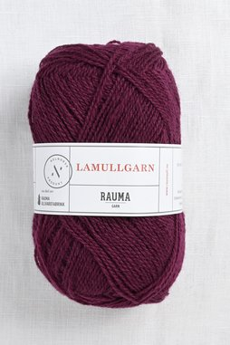 Image of Rauma 2-Ply Lamullgarn 32 Dark Burgundy