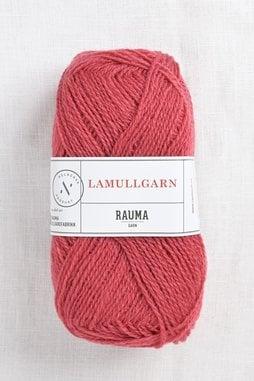 Image of Rauma 2-Ply Lamullgarn 33 Dark Coral