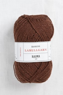 Image of Rauma 2-Ply Lamullgarn 34 Brown