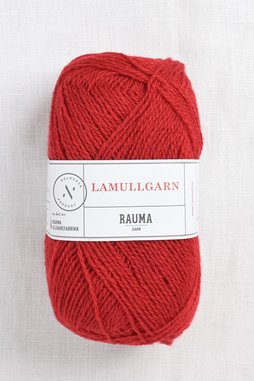 Image of Rauma 2-Ply Lamullgarn 35 Berry Red